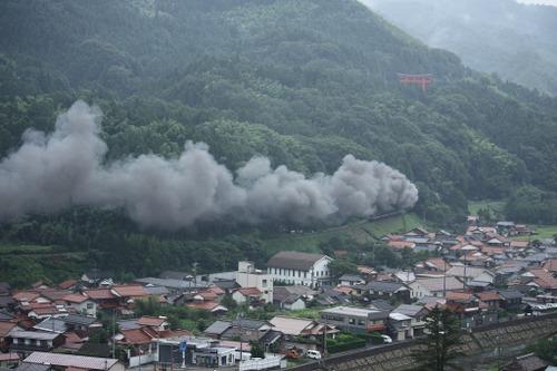 太鼓谷稲成神社から俯瞰撮影